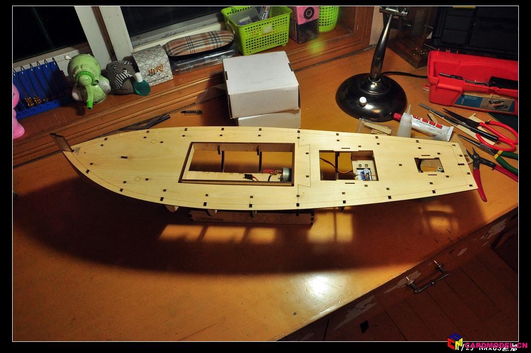 渔船制作过程