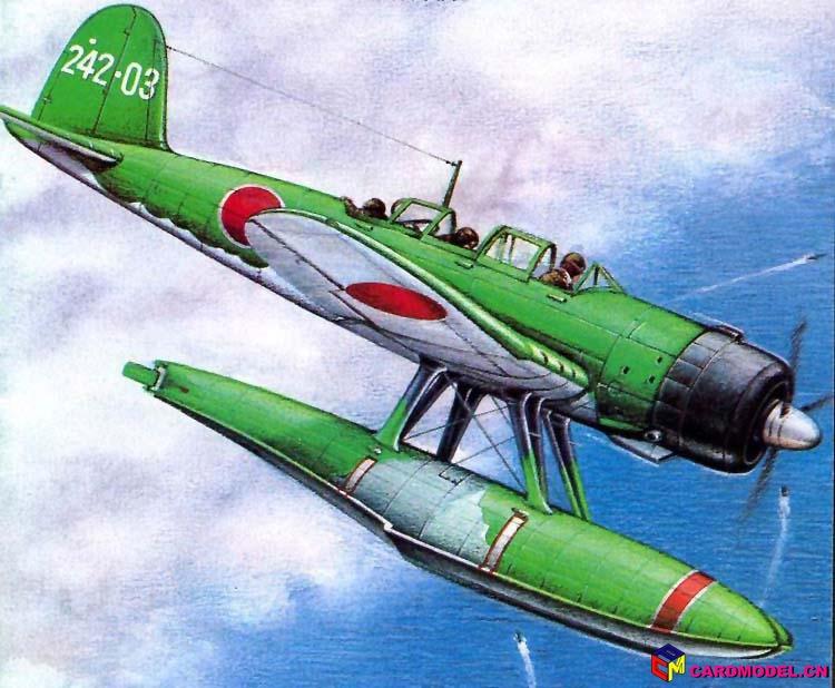 e13a是日本水上飞机中产量最大的