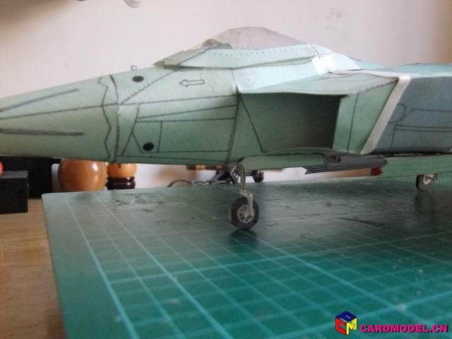 f22飞机(太大了) - 航空模型制作完成区(finished)